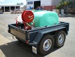 Trailer Mounted Diesel Pressure Cleaner